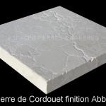 Pierre de Cordouet finition abbaye