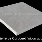 Pierre de Cordouet finition adoucie