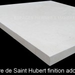 Pierre de Saint Hubert finition adoucie
