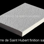 Pierre de Saint Hubert finition sablée